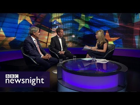 What would a 'temporary customs union' with the EU mean? - BBC Newsnight