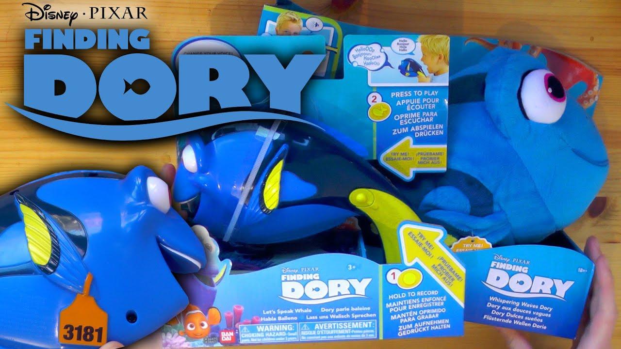 Live 3d Dolphin Wallpaper Finding Dory Toys Whispering Waves Dory Amp Let S Speak