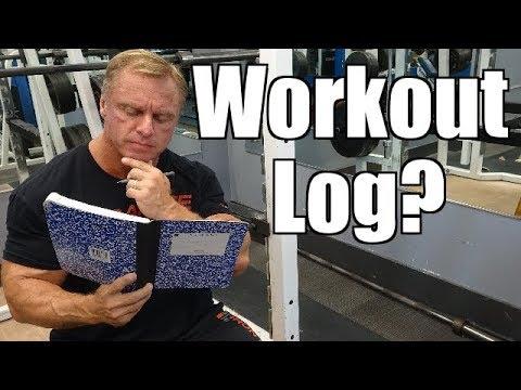 Should I Keep a Workout Log?
