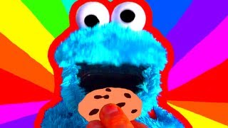 cookie monster count n crunch toy review cookie monster eats cookies with ernie sesame street toys
