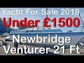 Yacht For Sale UK Looking To Buy A Yacht? Cheap Newbridge Venturer Yacht For Sale