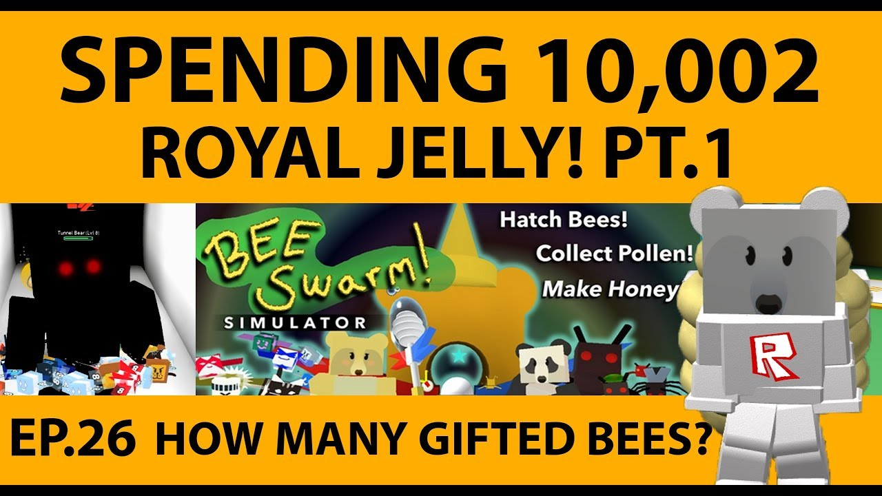 how to get infinite royal jelly in bee swarm simulator