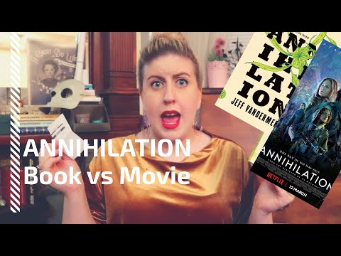 ANNIHILATION - How is the movie different from the novel?