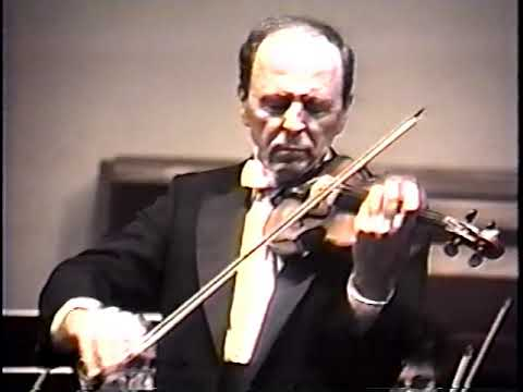 Bach - Double Violin Concerto BWV 1043, 2nd and 3rd Movements: Jean Ter-Merguerian/Joe Ketendjian