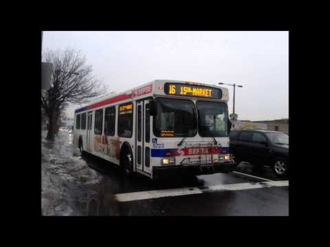 SEPTA Route 16: 2004 New Flyer D40LF #5723 Audio