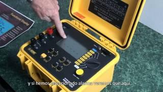 aemc 6250 10a micro ohmmeter