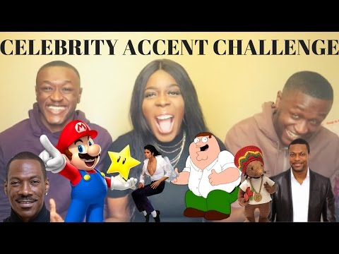 ACCENT CHALLENGE CELEBRITY EDITION