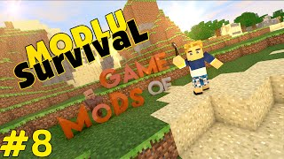 Minecraft Game Of Mods - Ev Bitti - Bölüm 8