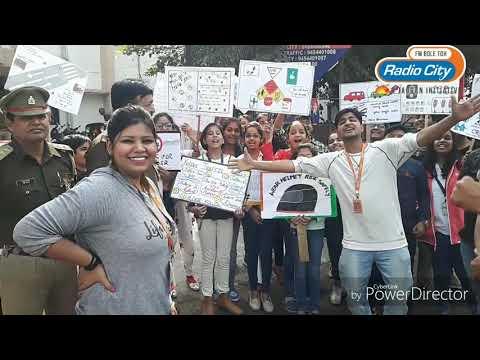 City ke little traffic controllers   Children's Day   Agra