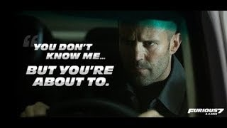 Fast and furious 7 - Jason Statham Entry - Payback