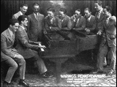 Waring's Pennsylvanians - Let's Have Another Cup Of Coffee 1932 Irving Berlin