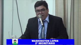 PROFESSOR WASHINGTON PRONUNCIAMENTO 19 02 2017