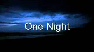 Jinks Featuring Beautiful - One Night (Lyrics) Mp3