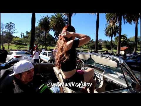 Elysian park lowriders 10/2017 (raw footage)