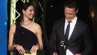 Caitriona Balfe & Sam Heughan @ BAFTA Scotland Awards Ceremony