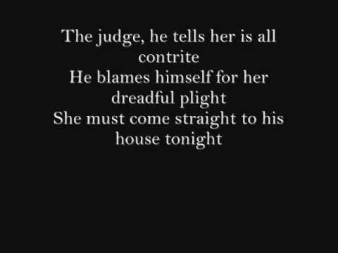 Sweeney Todd-Poor Thing-Lyrics