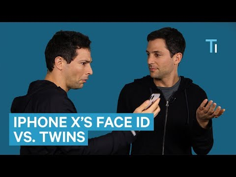 We put the iPhone X's Face ID to the test with twins