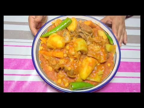 زكية-تقترح-كسكسي-سميد-مكسكس-بيدية---couscous-sémola@المطبخ-التونسي-زكية---tunisian-cuisine-zakia