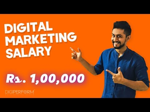 "Rs. 1,00,000 Digital Marketing Salary | 100% Correct Guidance For ""BIG Digital Marketing Salary"""
