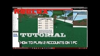 HOW TO PLAY MULTIPLE ROBLOX ACCOUNTS AT ONCE! (ROBLOX 2 INSTANCES AT ONCE)