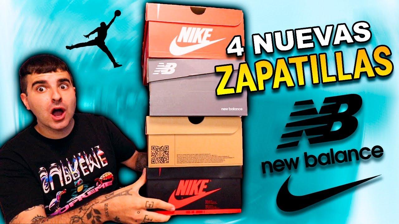 ÚLTIMAS COMPRAS! (4 pares de ZAPATILLAS) Nike, New Balance y Jordan