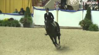 Abby Bertelson and Eclypso - USEF Medal Finals Warm Up