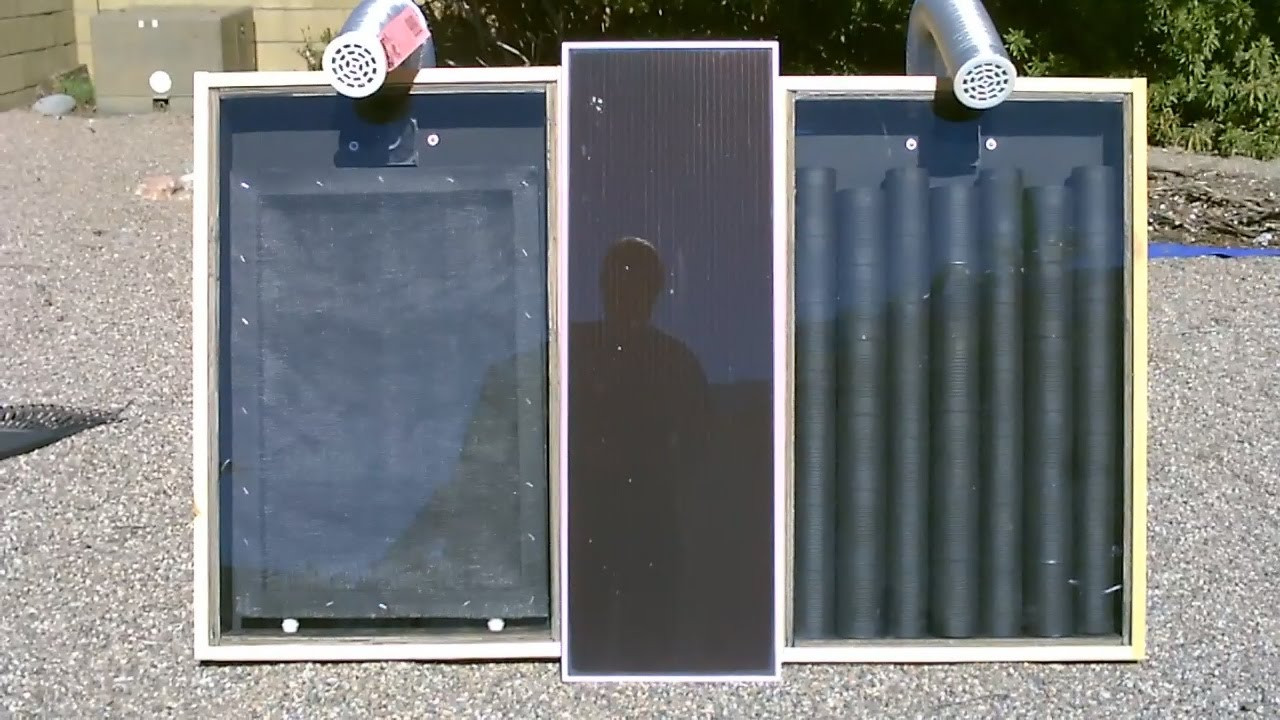 Solar Air Heater The Quot Screen Absorber Quot Solar Air Heater
