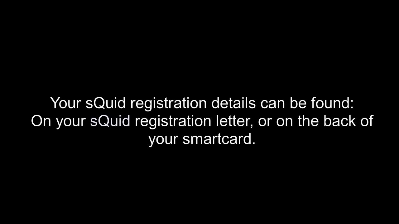 sQuid: Help