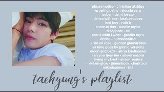 bts' taehyung's playlist.