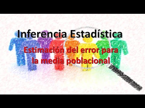 Estimacion del error de la media poblacional