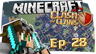 CLASH OF CLANS IN MINECRAFT - CRAFT OF CLANS EPISODIO 28
