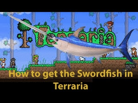 Terraria: How to get the Swordfish