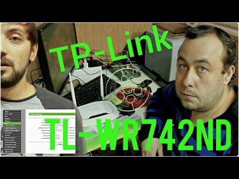 Установка и настройка Wi Fi TP Link TL WR842ND роутера. Видео урок [ Мысля от Эдгара 2014 ] HD