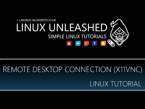 LINUX: REMOTE DESKTOP ACCESS WITH VNC TUTORIAL