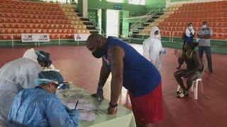 Atletas olímpicos dominicanos se someten a pruebas de COVID-19 antes de entrar a la 'burbuja'