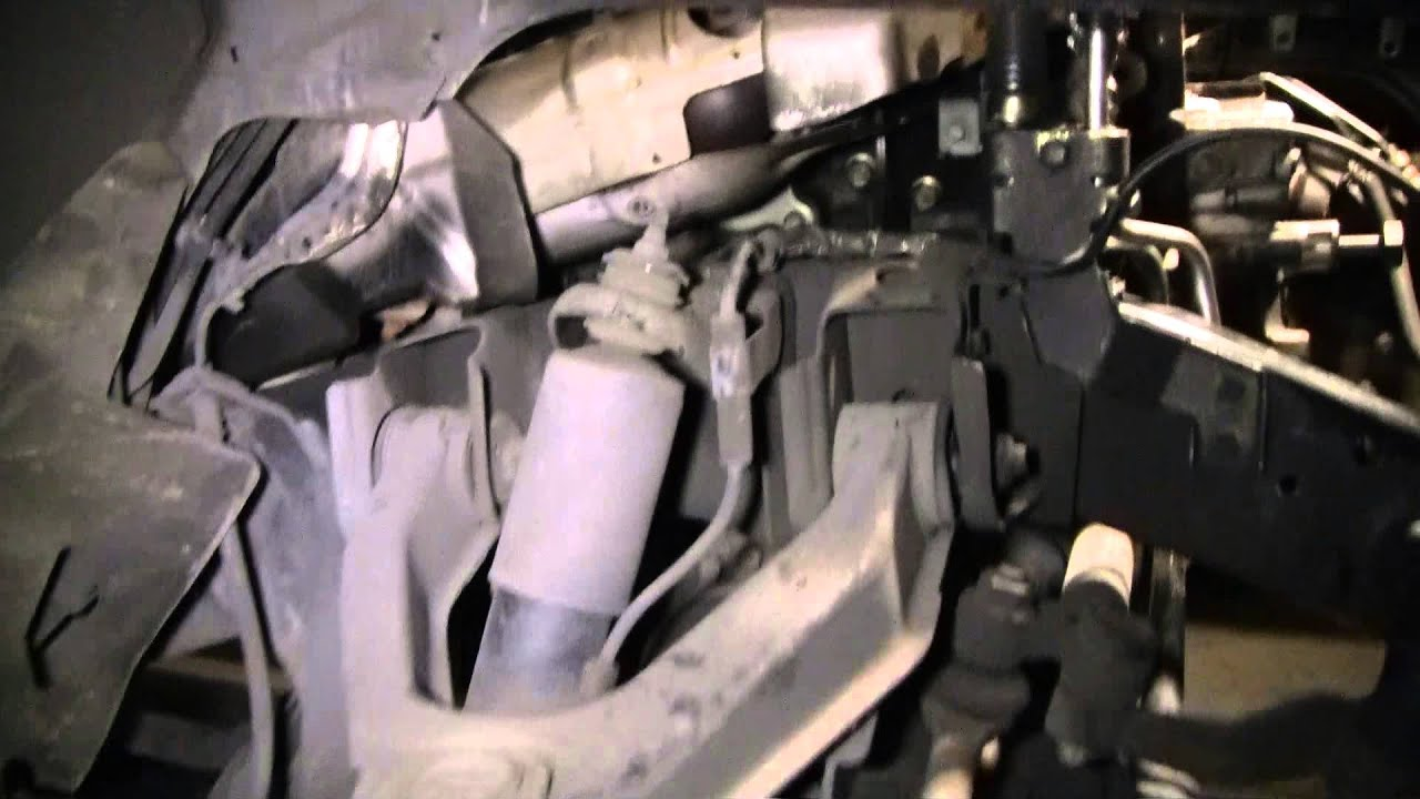 2002 nissan xterra vg33e rebuild step by step part 45 exhaust manifold w ground wire youtube