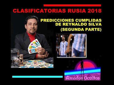 Clasificatorias Rusia 2018: Predicciones cumplidas de Reynaldo Silva SEGUNDA PARTE