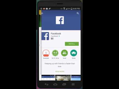 How To Install Facebook On Android Mobile Urdu/hindi Tutorial