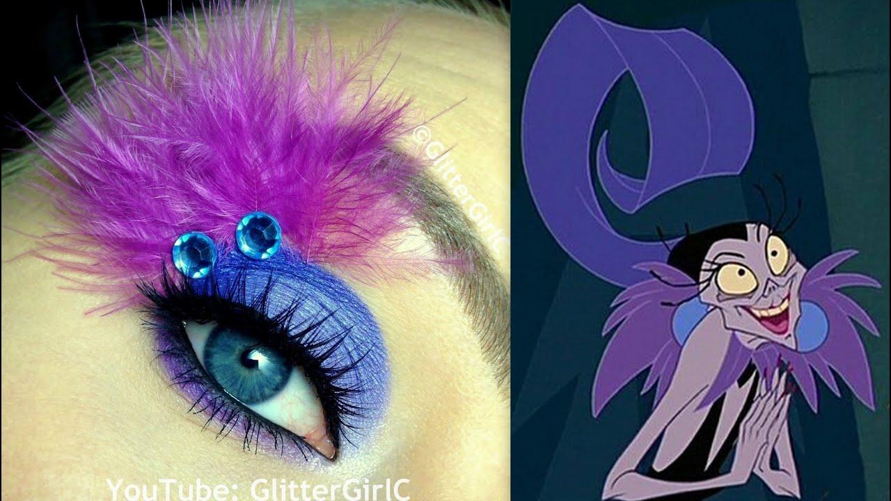 Disneys Yzma Makeup Tutorial Youtube