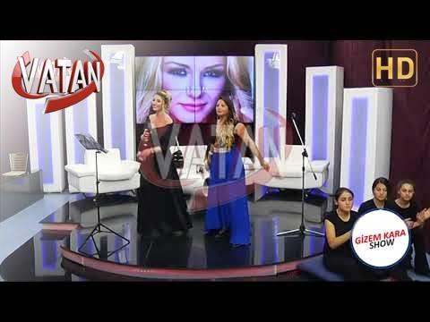 GİZEM KARA SHOW VATAN TV -  CANAN BAŞARAN UTANMADIN MI