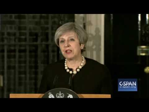 British Prime Minister Theresa May on London Attack (C-SPAN)