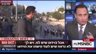 סרטון חזק הכתב הערבי של רשת MSNBC נתפס משקר בשידור חי ...