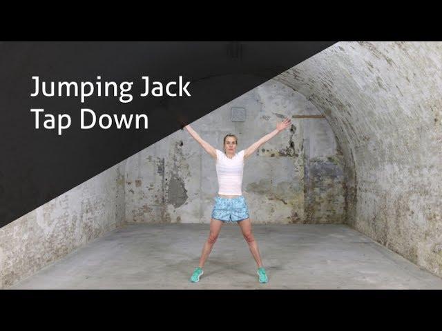 Jumping Jack Tap Down -  hoe voer ik deze oefening goed uit?
