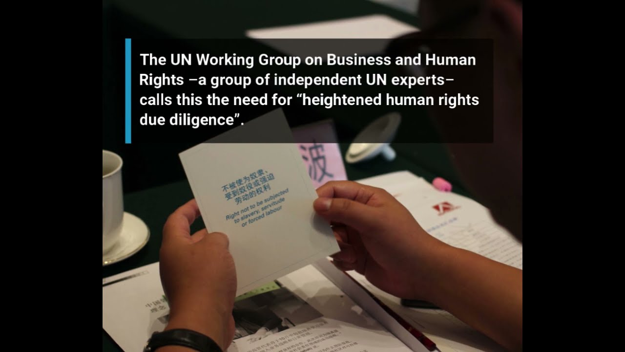 Business and Human Rights in Conflict-Affected Areas