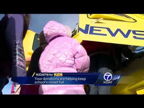 Your coat donations help keep Rio Rancho kids warm