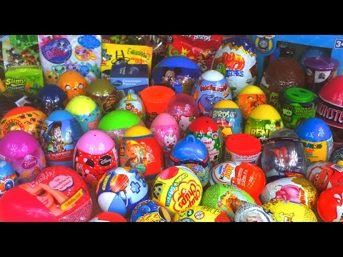 61 Kinder Surprise Eggs for KIDS! Barbie, little Pony, Educational Toys and more! by TheSurpriseEggs