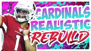 Rebuilding The Arizona Cardinals - Madden 20 Connected Franchise Realistic Rebuild