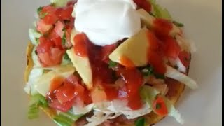 How To Make Chicken Tostadas - 99 Cents Only Store Recipe