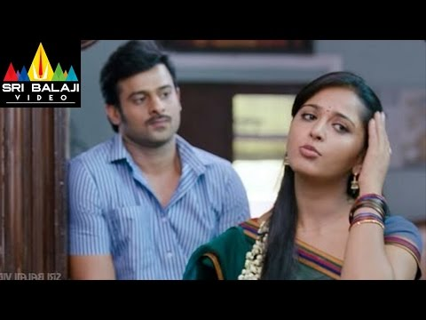 Mirchi Movie Prabhas And Anushka Funny Scene | Sri Balaji Video