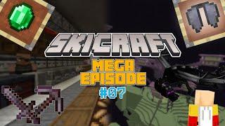 SkiCraft Season 1 Episode 7   Mega Episode!   Villager Trading Hall , Netherite and More!!!